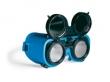Las/snijbril opklapbaar Flippo/Montreal kleur 5